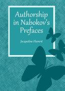 Pdf Authorship in Nabokov's Prefaces Telecharger