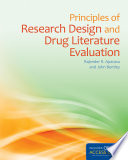 Principles of Research Design and Drug Literature Evaluation Book
