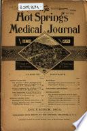 The Hot Springs Medical Journal