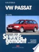 VW Passat ab 10/96 bis 2/05