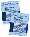 Handbook of Crystal Growth