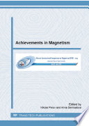 Achievements in Magnetism