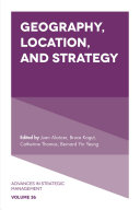 Pdf Geography, Location, and Strategy Telecharger