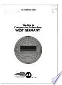 Studies In Comparative Federalism