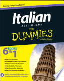 Italian All in One For Dummies Book