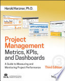 Project Management Metrics  KPIs  and Dashboards Book