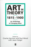 Art in Theory 1815-1900