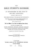 The Bible student s handbook