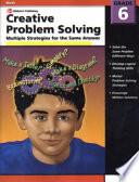 Creative Problem Solving, Grade 6