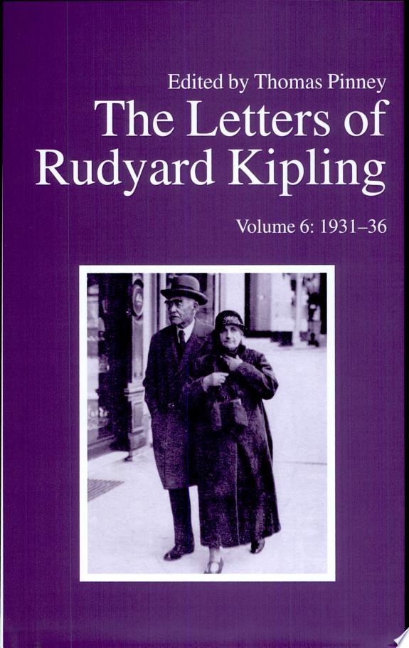The Letters of Rudyard Kipling: 193