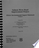 Salmon National Forest N F Salmon River Road Improvement Project