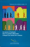 Pdf Jeunes Et L'exclusion Dans Les Quartiers Défavorisés Telecharger