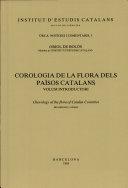 Corologia de La Flora Dels Paisos Catalans