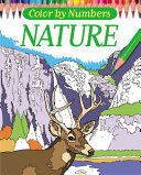Color By Numbers   Nature Book