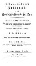 Zeitungs- und Conversations-Lexikon