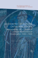 Pdf Accounting at Durham Cathedral Priory Telecharger