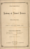 Proceedings of The Academy of Natural Sciences (Part I -- Jan.-Apr., 1887) ebook