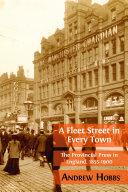 A Fleet Street in Every Town Pdf/ePub eBook