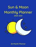 Sun   Moon Monthly Planner