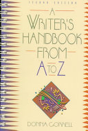 A Writer s Handbook from A to Z