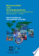History Development And Management Of Water Resources Volume I Book PDF
