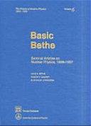 Basic Bethe