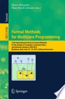 Formal Methods for Multicore Programming Book