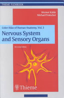 Color Atlas and Textbook of Human Anatomy: Nervous system and sensory organs