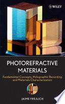 Photorefractive Materials