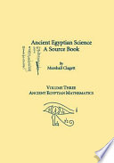 Ancient Egyptian Science: Ancient Egyptian mathematics