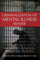 Criminalization Of Mental Illness Reader