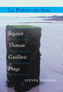 La poésie du lieu [Pdf/ePub] eBook