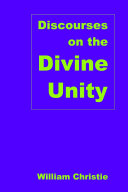 Discourses on the Divine Unity