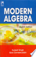 Modern Algebra, 8E