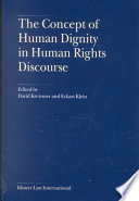 Concept of Human Dignity in Human Rights Discourse