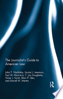 The Journalist S Guide To American Law