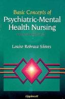 Basic Concepts of Psychiatric mental Health Nursing Book