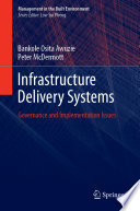 Infrastructure Delivery Systems