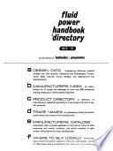 Fluid Power Handbook & Directory, 1972-73