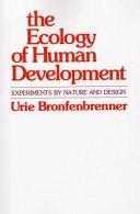 The Ecology of Human Development Pdf/ePub eBook