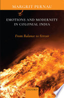 Emotions and Modernity in Colonial India