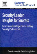 Security Leader Insights for Success Book