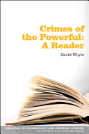 Readings in Crimes of the Powerful
