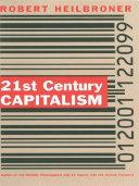 21st Century Capitalism Book PDF
