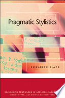 Pragmatic Stylistics Pdf/ePub eBook