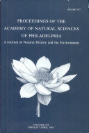 Proceedings of The Academy of Natural Sciences (Vol. 144, 1993) [Pdf/ePub] eBook