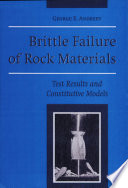 Brittle Failure of Rock Materials
