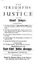 The Triumphs of Justice Over Unjust Judges