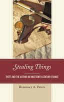Pdf Stealing Things Telecharger