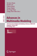 Advances in Multimedia Modeling Book